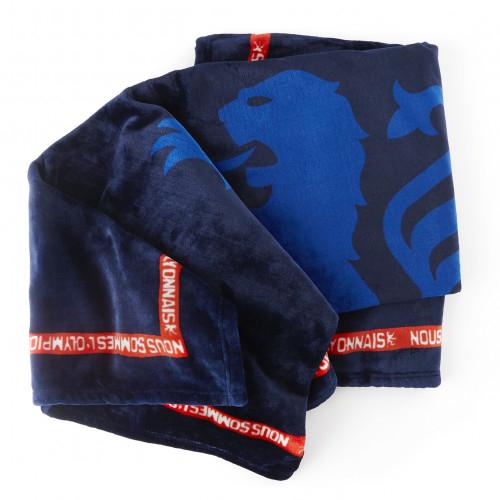 Plaid bleu marine OL - Taille - Unique