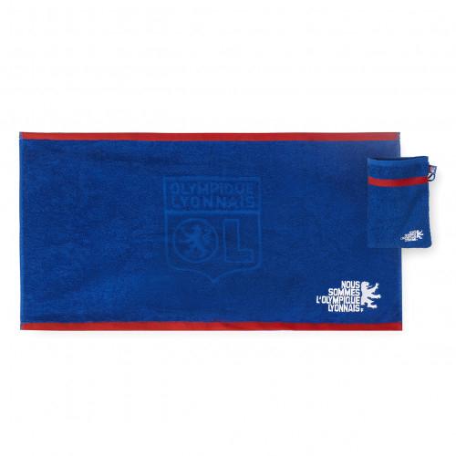 Kit serviette et gant de toilette OL - Taille - Unique
