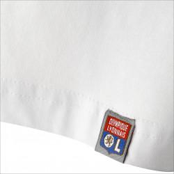 T-shirt blanc manches courtes Lyonnaise
