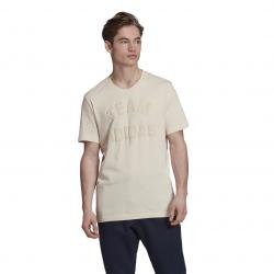 adidas men's beige VRCT T-shirt