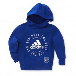 adidas junior blue hoodie