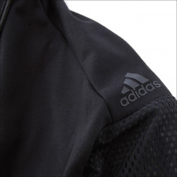 Sweat adidas Noir et Blanc junior