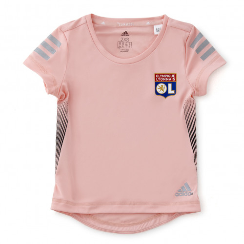 T-shirt Run rose adidas junior - Taille - 5-6A