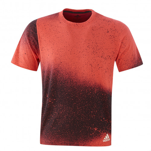 T shirt adidas Rouge/noir homme - Taille - XL