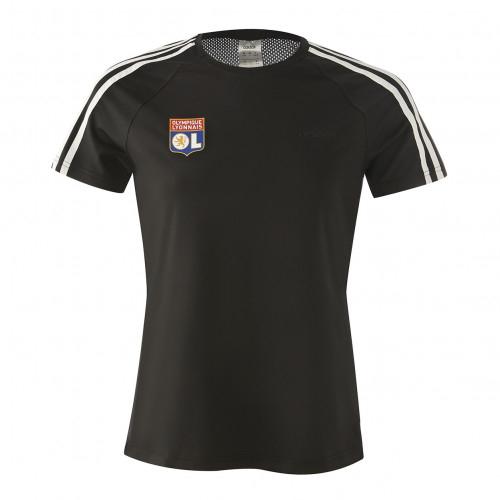 T-shirt noir 3 bandes adidas Femme - Taille - XS