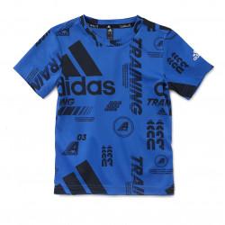 T-shirt adidas bleu junior