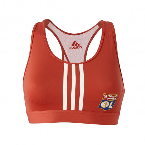 Brassière adidas rouge 3 bandes - Taille - 2XS