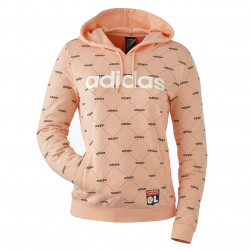 Sweat-shirt à capuche Linera Graphic adidas femme