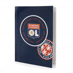 Notebook 21x29,7cm Lyon Olympic Patch