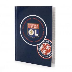 Notebook 21x29,7cm Lyon Olympic Patch