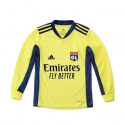 Yellow Junior goalie jersey long sleeves 20/21