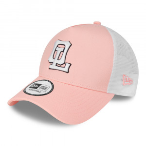 New Era OL 940 TRUCKER cap pink