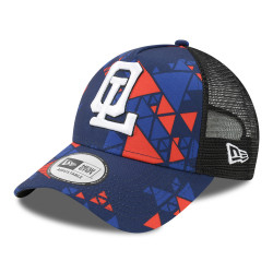 New Era Junior Cap Red and Blue