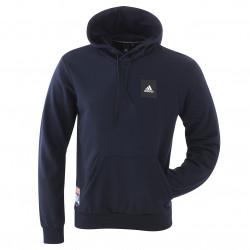 Sweat à capuche bleu marine homme adidas