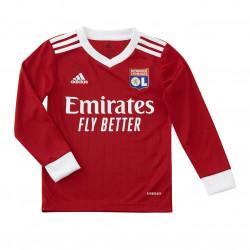 Red long-sleeved Junior goalie training jersey