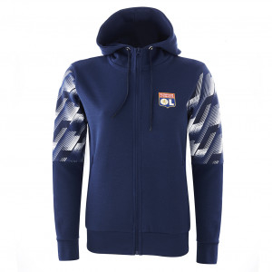 Hooded jacket TRG PERF woman