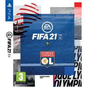Jeu FIFA 21 PS4 + Fourreau Olympique Lyonnais