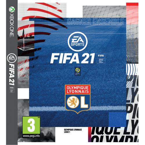 Jeu FIFA 21 Xbox One + Fourreau Olympique Lyonnais
