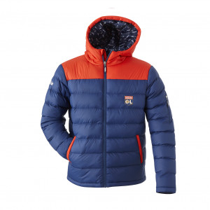 Blue and red children's jacket
