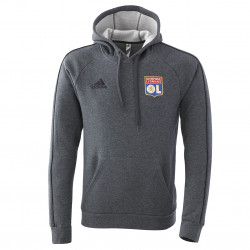 Sweat à capuche staff OL 20-21