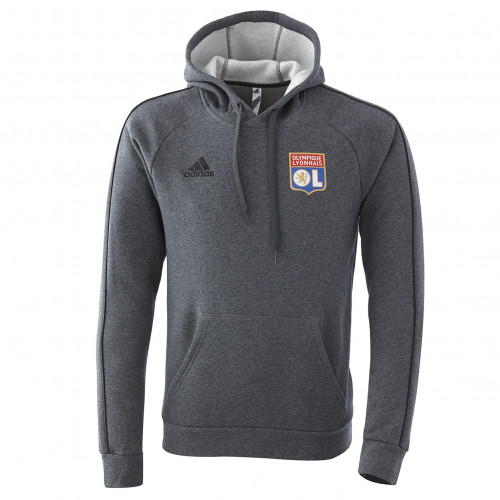 Sweat à capuche staff OL 20-21 - Taille - XL