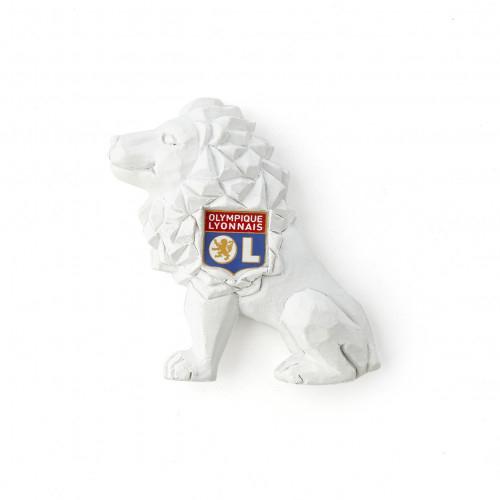 Magnet lion blanc - Taille - Unique