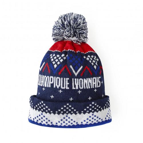 Bonnet de Noël OL - Taille - Unique