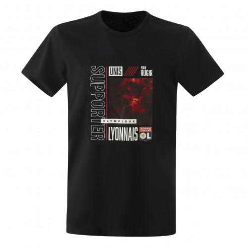 T-shirt Lion OL adulte - Taille - S