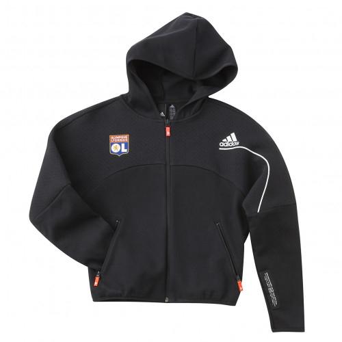 Veste à capuche adidas Z.N.E. Loose Full-Zip Junior - Taille - 14-15A