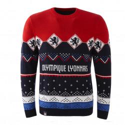 Men's Olympique Lyonnais Christmas Sweater