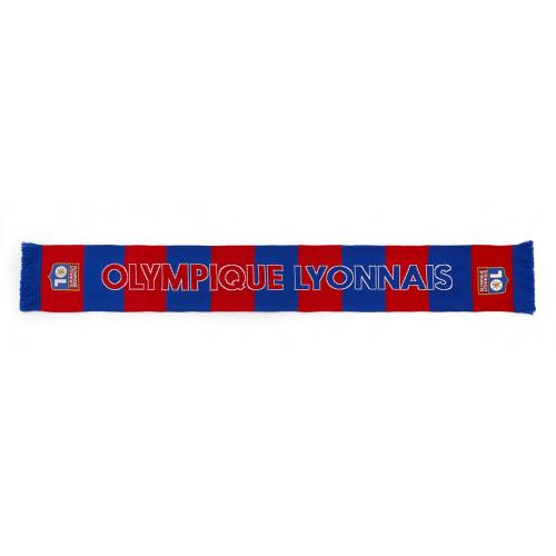 Echarpe rayée Olympique Lyonnais - Unique - Unique