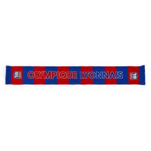 Echarpe rayée Olympique Lyonnais