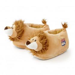 Pantoufles enfant 3D lion OL
