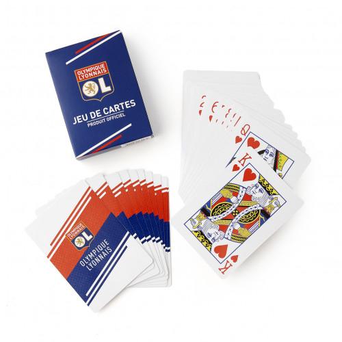 Jeu de 54 cartes OL - Taille - Unique