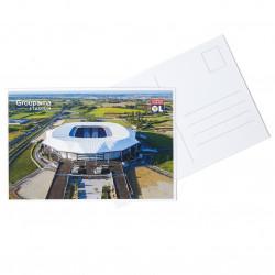 Carte Postale Parc OL Vue Ciel 2 16-17