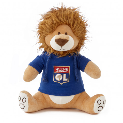 Peluche lion sonore AHOU 35cm OL - Taille - Unique