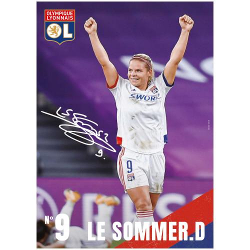 Poster Le Sommer.D 20/21 - Taille - Unique