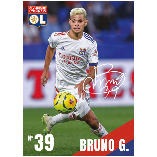 Poster Bruno G. 20/21 - Taille - Unique