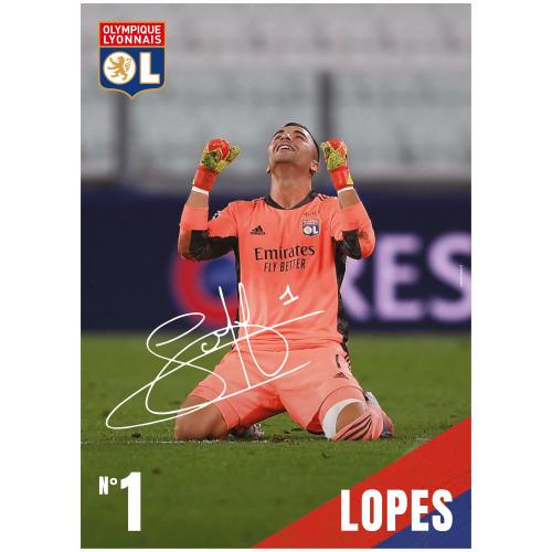 Poster Lopes 20/21 - Taille - Unique