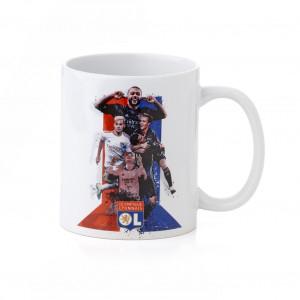 """Ceramic mug """"joueurs"""""""