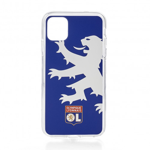 Coque bleu lion OL IPhone 11