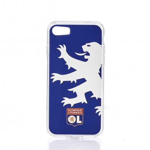 Coque bleu lion OL IPhone 7
