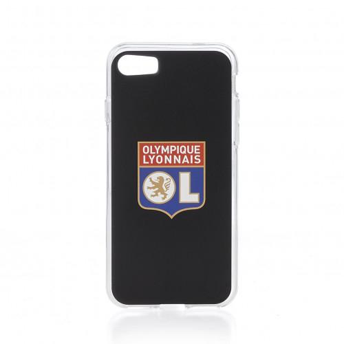 Coque noire logo OL IPhone 7