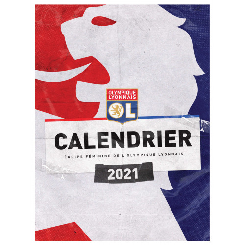 Calendrier Mural Joueuses 2021 - Taille - Unique