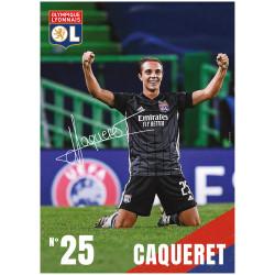 Carte postale Caqueret 20/21