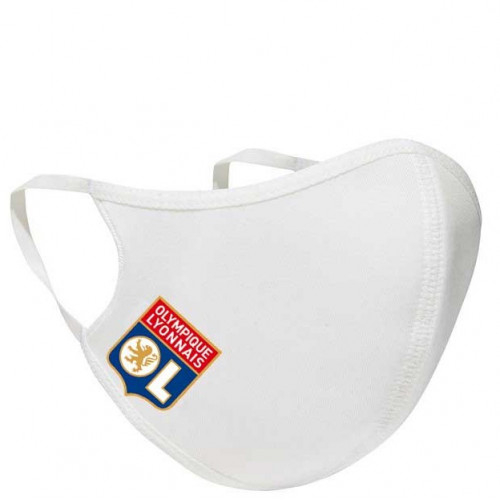 Pack de 3 masques blanc adidas OL - Taille - Unique