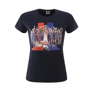 T-shirt manches courtes joueuses femme