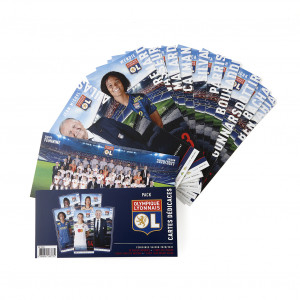 Pack cartes dedicaces Feminines 20 21