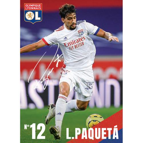 Carte postale PAQUETA 20/21 - Taille - Unique