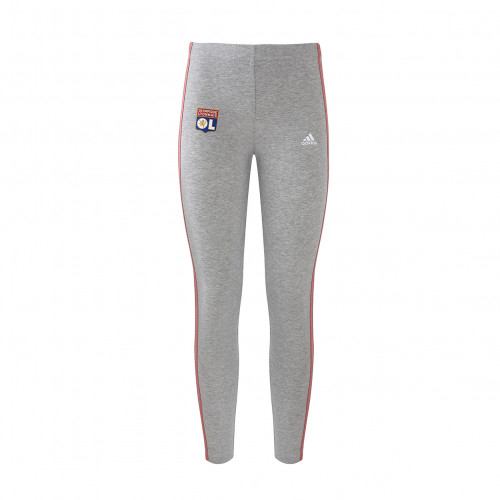 Legging gris et rose fille